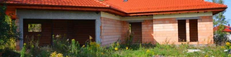 Budowa domu pod Legnicą. Cisza i spokój.