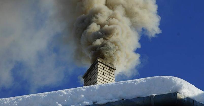 Sprzątali strych aż się kopciło z komina
