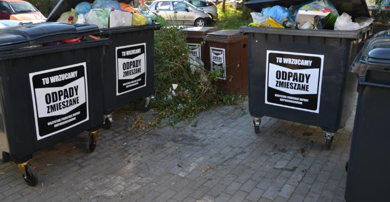 Po śmieci przyjadą w inny dzień