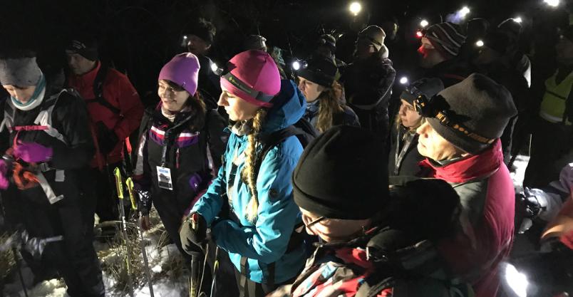 Znowu chodzą nocą po zaśnieżonych górach