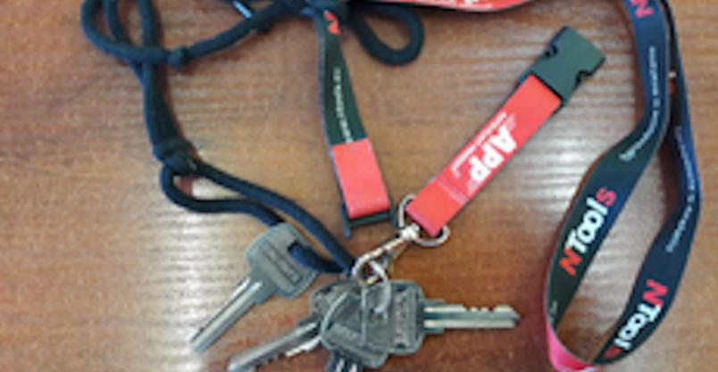 Policja poszukuje właściciela kluczy