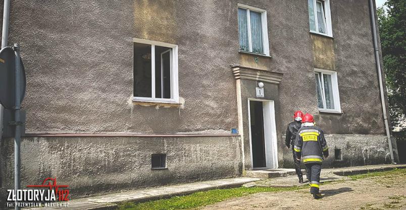 Remontowali mieszkanie i wwiercili się w rurę z gazem