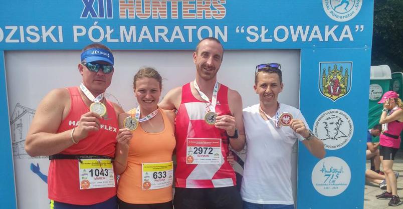 Upał naszym maratończykom niestraszny