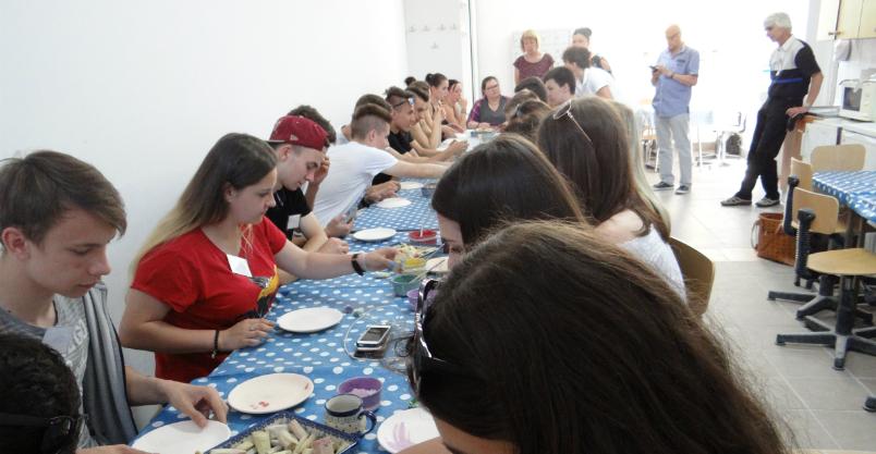 Niemcy przyjechali do Złotoryi i uczyli się ceramiki w Bolesławcu