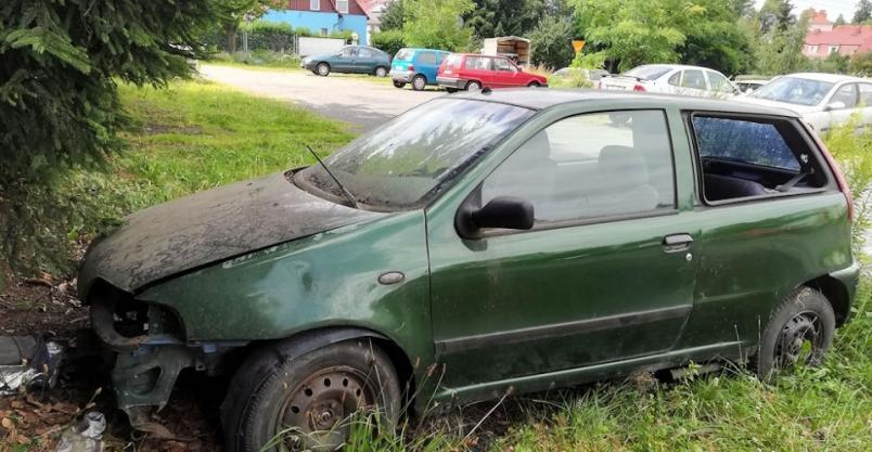 Liczba wraków samochodowych w Złotoryi znacznie zmalała