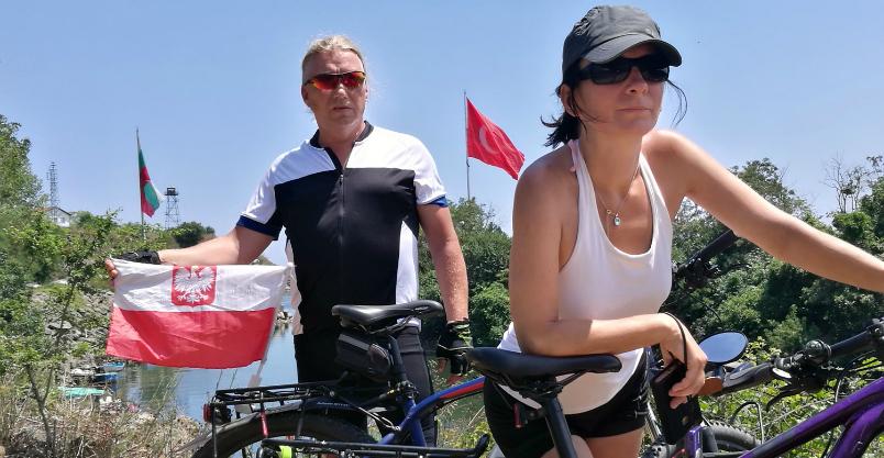 Przejechali na rowerze ponad 600 km, spalając przy tym ok. 40 tys. kilokalorii