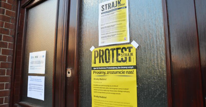 Nauczyciele strajkują. W przedszkolu na Górniczej tylko jedno dziecko