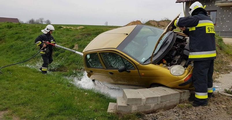 Kierowca pomylił pasy ruchu?