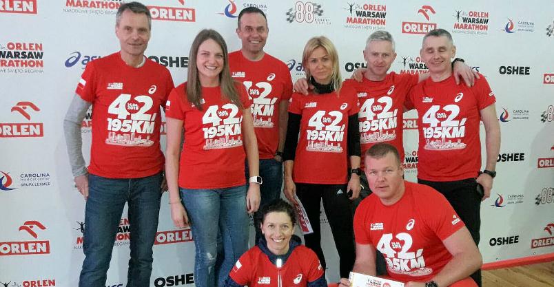 Złotoryjanie na Orlen Warsaw Marathon