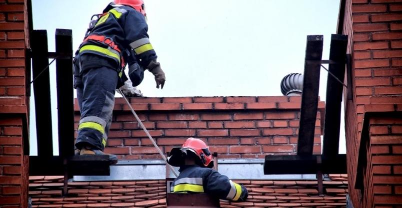 Piecyk gazowy dymił niczym węglowy