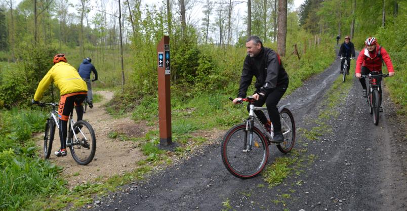 Złotoryjskie lasy awansowały do rowerowej ekstraklasy (FOTO)
