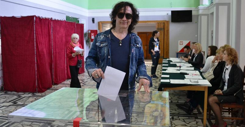 Rockmani z Lady Pank nie odpuścili dzisiejszych wyborów
