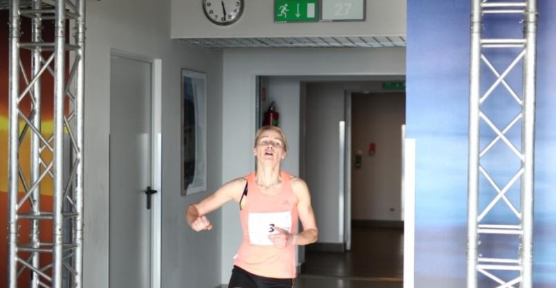 Anna Ficner ponownie najszybsza na schodach