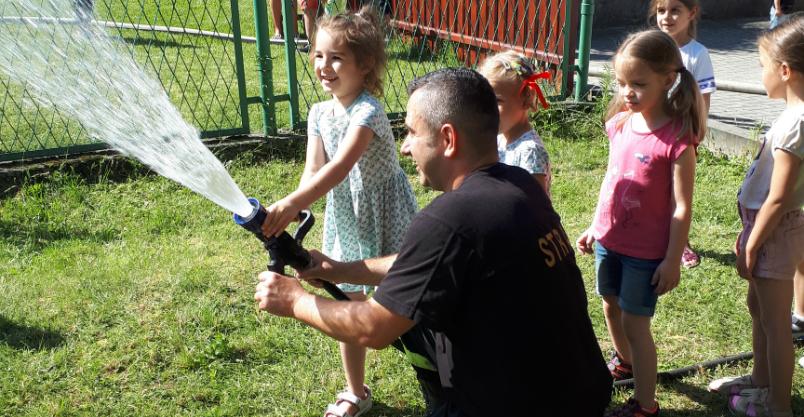 Strażacy działali w przedszkolu