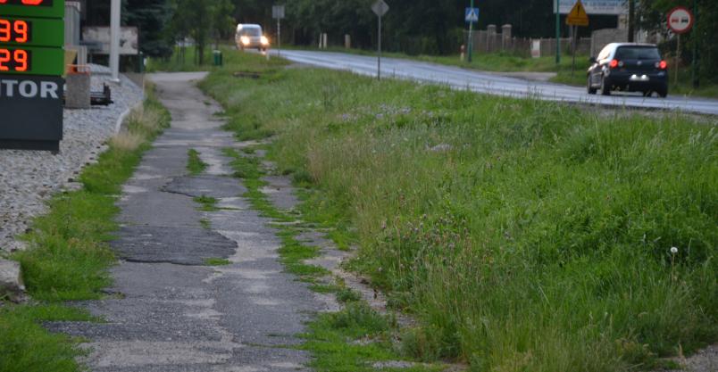 Ratusz projektuje ścieżkę rowerową do mostu na Kaczawie