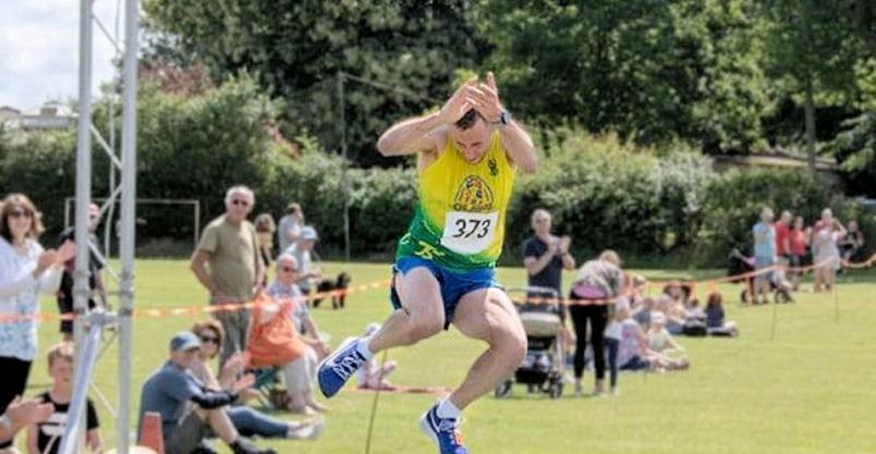 Biegacz z OLAWS-a ustanowił nowy rekord w... Anglii