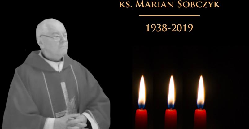 Nie żyje ksiądz Marian Sobczyk. W poniedziałek pożegnanie prałata w Złotoryi