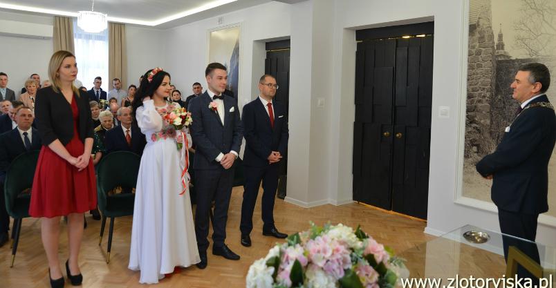 Sala ślubów już po remoncie. I pierwszej uroczystości