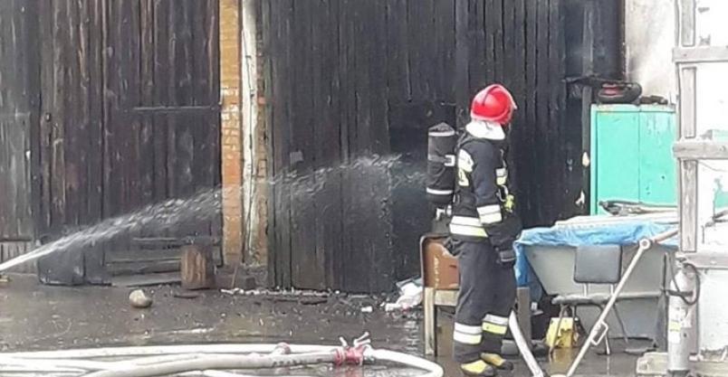 Pożar na Zagrodzieńskiej. Istniało realne ryzyko wybuchu