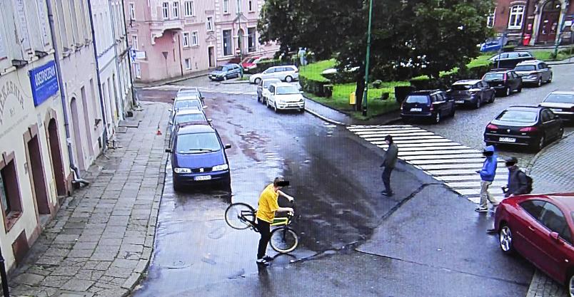 Jedni na rowerze miejskim jeżdżą, inni go po Złotoryi noszą