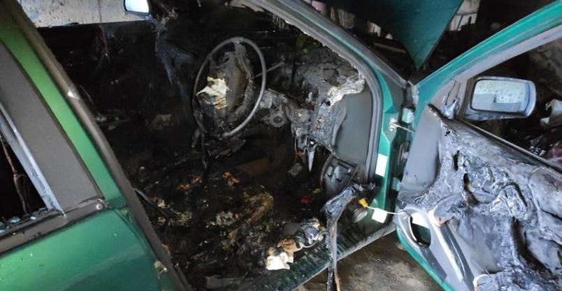 Znamy przyczyny pożaru samochodu w Wilkowie
