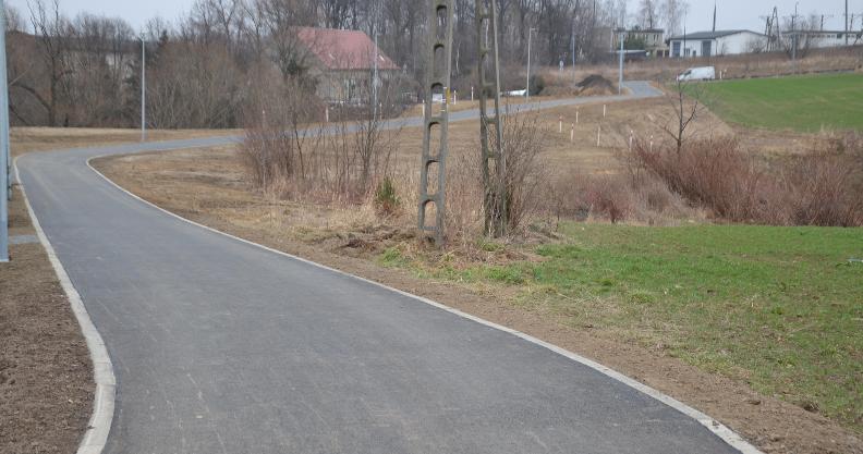 C jak całkiem nowe pół kilometra asfaltu